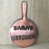 Sara's Kitchen, copper and stainless steel