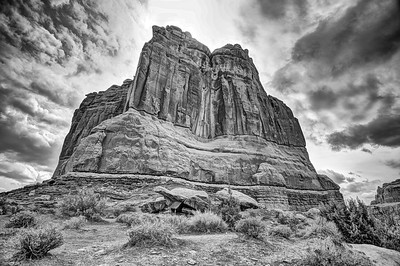 The Tower of Babel, Arches National Park, UT