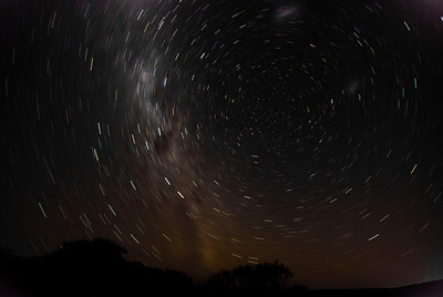 Argentina, Southern Sky in motion