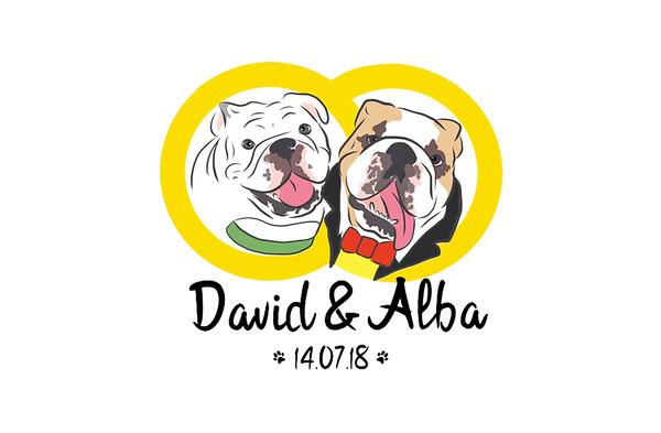 David & Alba - 14 julio 2018