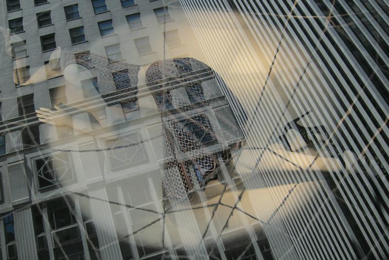 Mannequin in New York Window, by Alex Everett