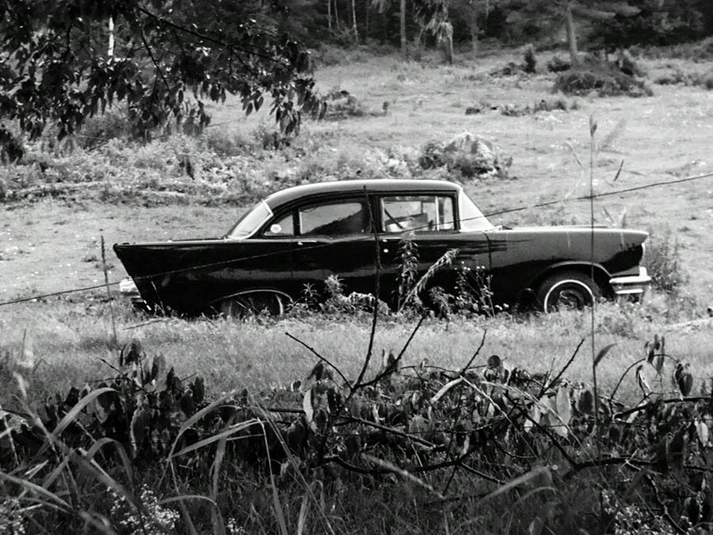 Old Car in Vermont Field, by Alex Everett