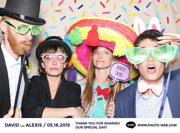 David & Alexis Wedding