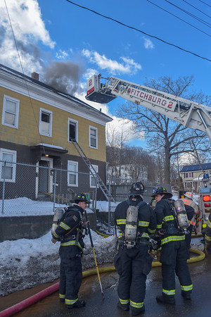 2 Alarm Structure Fire - Kimball St, Fitchburg, Ma - 3/11/19
