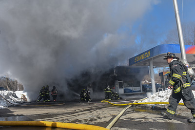 2 Alarm Structure Fire - Main St, Leominster, Ma - 3/7/19