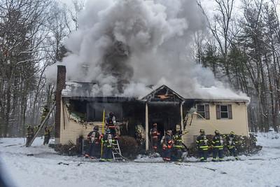 2 Alarm Structure Fire - Nashua Rd, Groton, Ma - 3/4/19