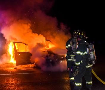 Auto Fire - Princeton Rd, Fitchburg, Ma - 9/3/19