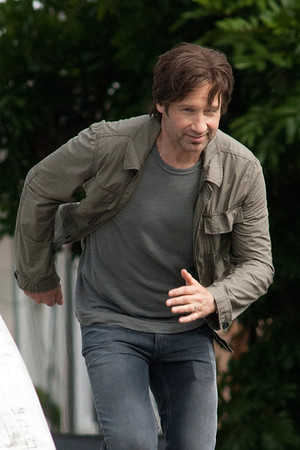 David Duchovny Seen In Venice