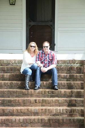 Brittany & Bo Engagement Shoot Hunington Creek Farms