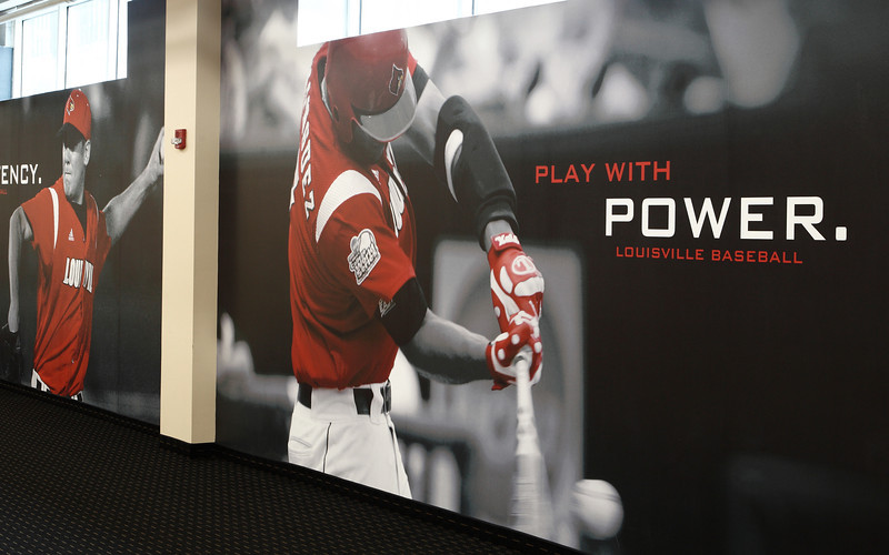 2010 - LOUISVILLE BASEBALL GRAPHIC | design by David Klotz
