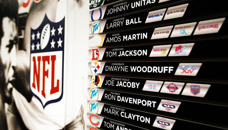 2011 - LOUISVILLE FOOTBALL SUPER BOWL DISPLAY | design by David Klotz