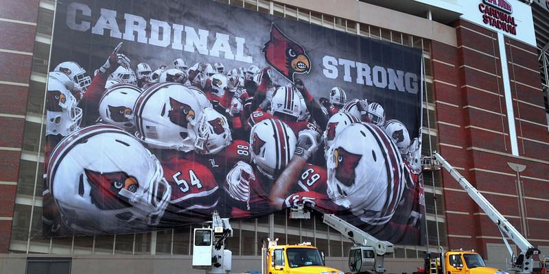 2012 Louisville Football Stadium graphic