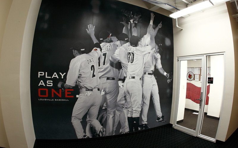 2010 - LOUISVILLE BASEBALL GRAPHIC | design and photography by David Klotz