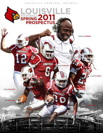 2011 - LOUISVILLE FOOTBALL SPRING PUBLICATION | design and photography by David Klotz