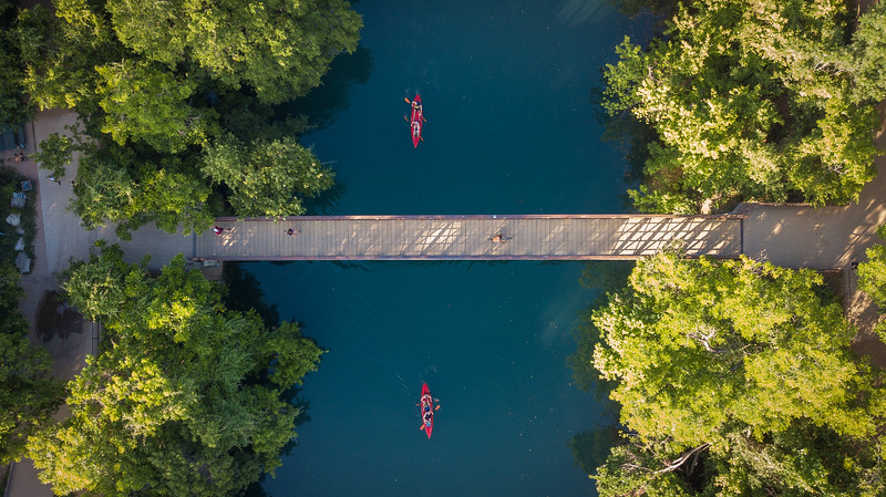 Barton Springs Foot Bridge
