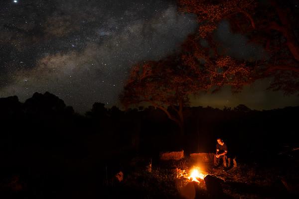 Blanco Night Sky