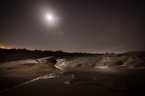 Pedernales Moonscape