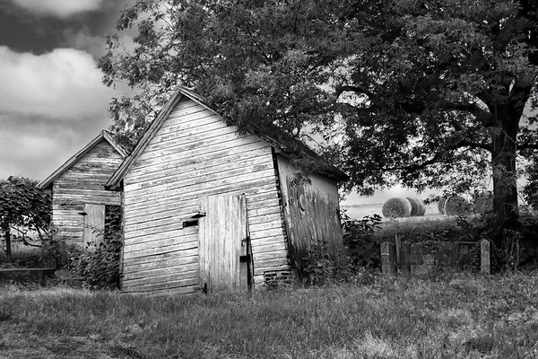 Tilted Shed - Carroll County, Maryland