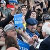 Bernie Sanders in Monterey