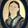 Hilie Chestnut - January 14, 1875 - Age 16 - Wedding Day Sketch - London, KY
