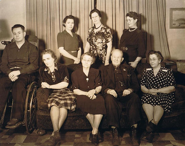 David and Hilie Photos 1940