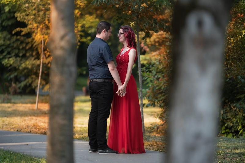 Sedinta foto inainte de nunta.