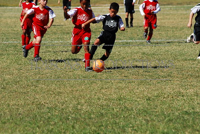 Derek's soccer - Playoff game - Nolan's 17th BD 10-29-10