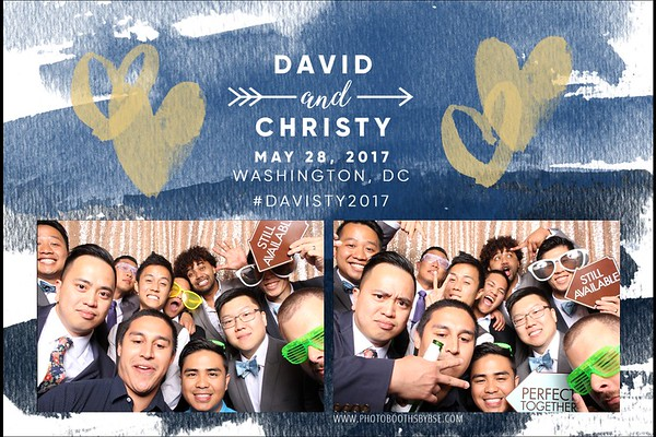 David & Christy's Wedding Photo Booth