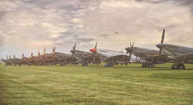 Spitfire Squadron. By David Stoddart