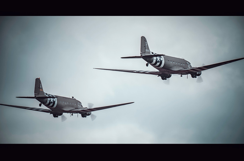 Daks at Duxford! Flying Legends 2019 By David Stoddart