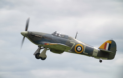 Hawker Sea Hurricane 1B Z7015 at Shuttleworth Airshow 2019 By David Stoddart