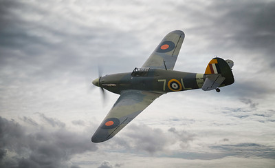 Hawker Sea Hurricane 1B at Shuttleworth Airshow  By David Stoddart