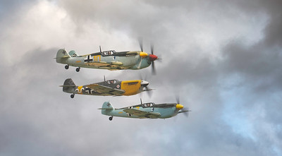 The Buchon Squadron! What a sight! By David Stoddart