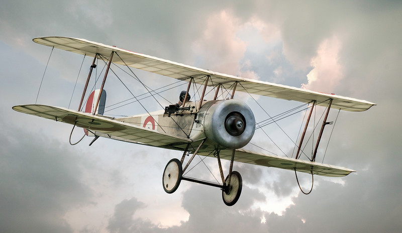 Bristol Scout from WW1 By David Stoddart