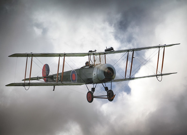 The AVRO 504K At Shuttleworth Airshow 2019  By David Stoddart