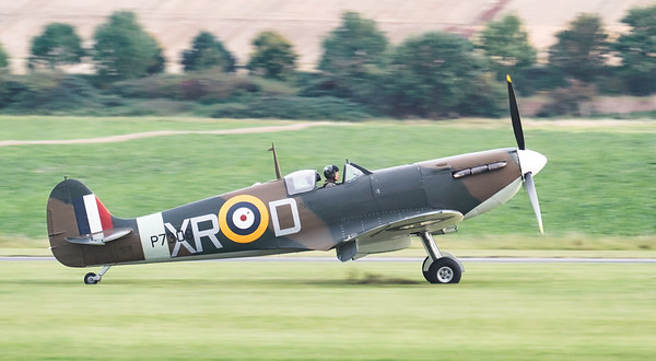 Supermarine Spitfire Mk IIa P7308. By David Stoddart