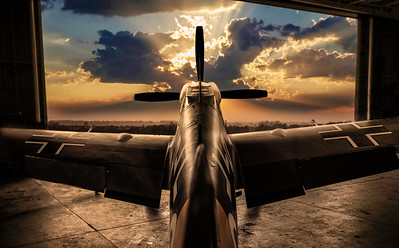 Mission at Sunrise - My Composite - By David Stoddart