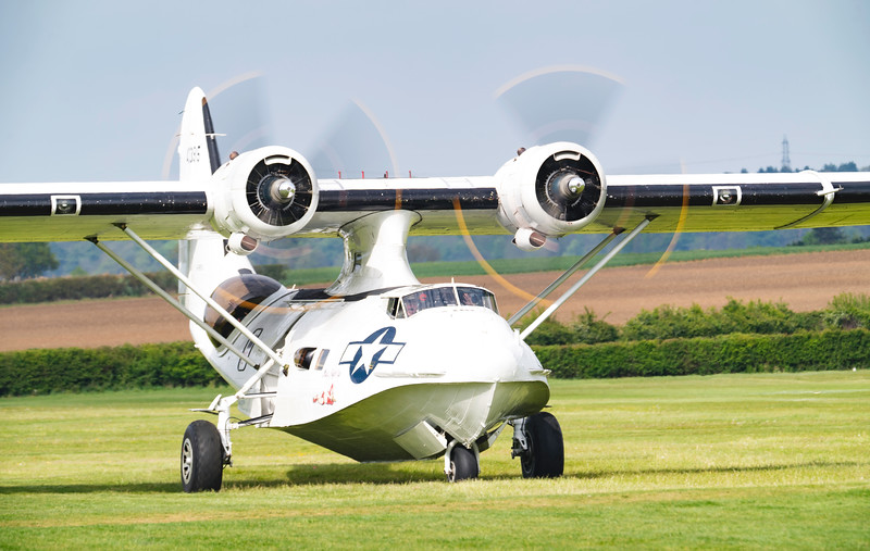 Consolidated Catalina PBY5A Miss Pick Up at Shuttleworth Airshow 2019  By David Stoddart