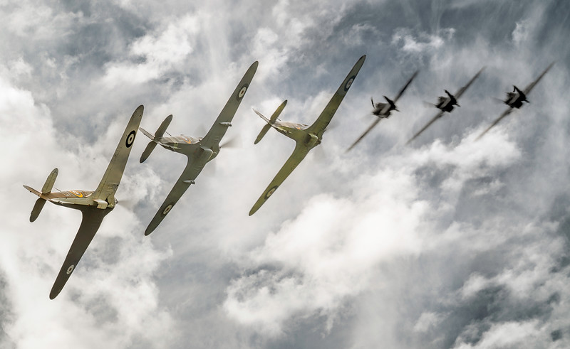 Hawker Hurricane Break! By David Stoddart