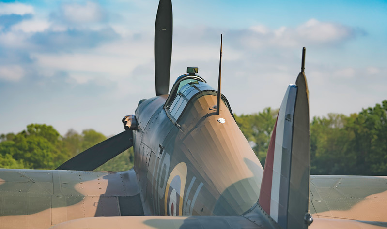 Hawker Hurricane MKI R4118.  By David Stoddart
