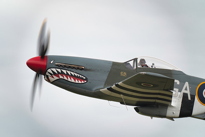 "North American P-51D Mustang (G-SHWN) ""The Shark� Flying legends Airshow 2019   By David Stoddart"