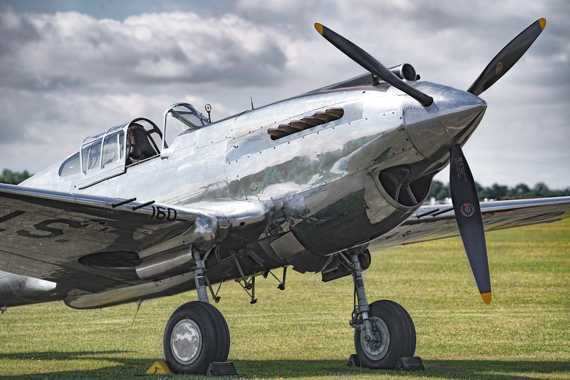 "An original ""Silver Bird"" The Curtis P-40C Warhawk 41 13357 By David Stoddart"
