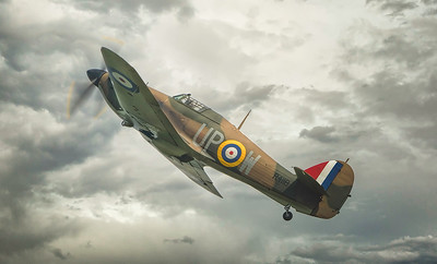 Hawker Hurricane MKI R4118 By David Stoddart