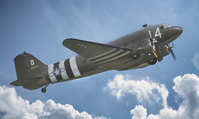 Douglas C-47A Dakota 2100884 (N147DC) By David Stoddart