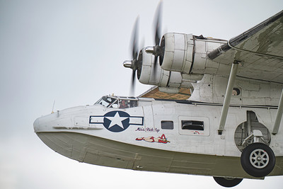 Consolidated Catalina PBY5A Miss Pick Up at Duxford Flying Legends Airshow 2019  By David Stoddart