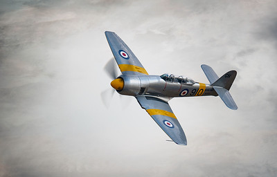 Hawker Sea Fury T.20 WG655 (G-CHFP) Flying Legends Airshow 2018  By David Stoddart