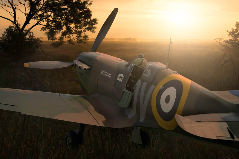 Spitfire N3200. By David Stoddart