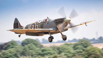 "Supermarine Spitfire Twin Seater IX (G-LFIX) ML407 ""The Grace Spitfire"" By David Stoddart"