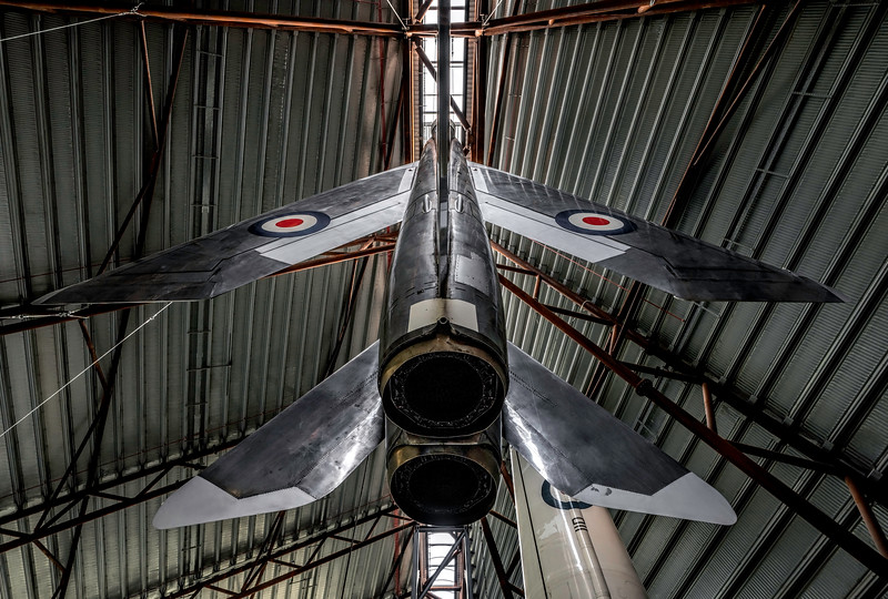 English Electric Lightning F1 XG337 Suspended from the ceiling! By David Stoddart