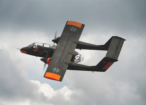 OV-10B Bronco 99+18 At Shuttleworth Airshow 2019  By David Stoddart